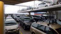 Biler om bord i ferge